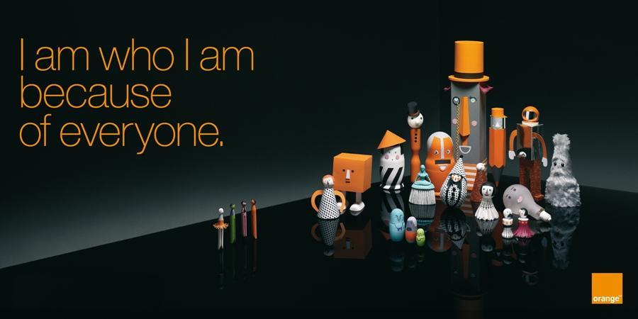 exclu premi re campagne publicitaire globale pour orange. Black Bedroom Furniture Sets. Home Design Ideas