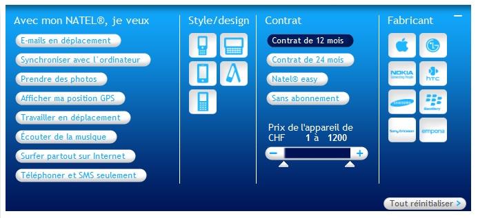 swisscom trouver son t l phone sur le shop online. Black Bedroom Furniture Sets. Home Design Ideas